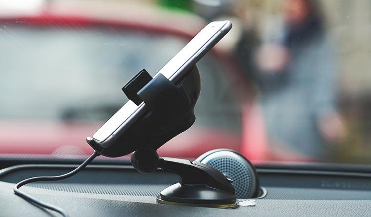 Держатель с функцией беспроводной зарядки, Onetto Charging Car&Desk Mount Easy Flex Wireless