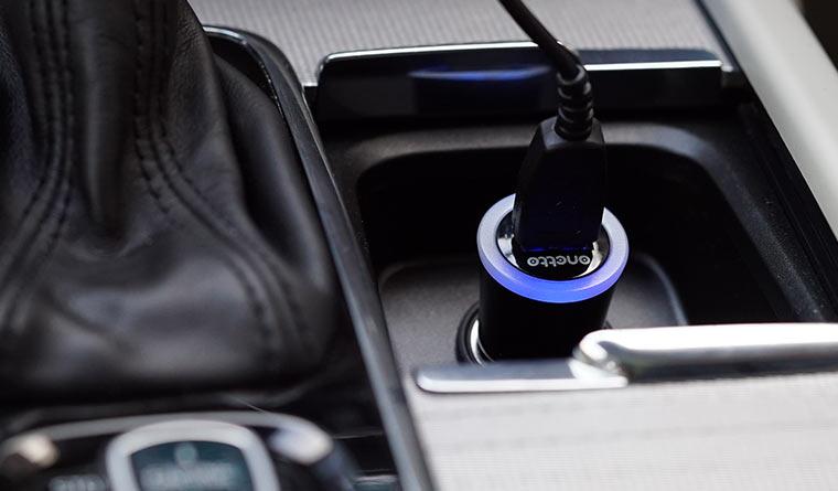 Зарядное устройство в пикуриватель, Onetto Charging Car&Desk Mount Easy Flex Wireless