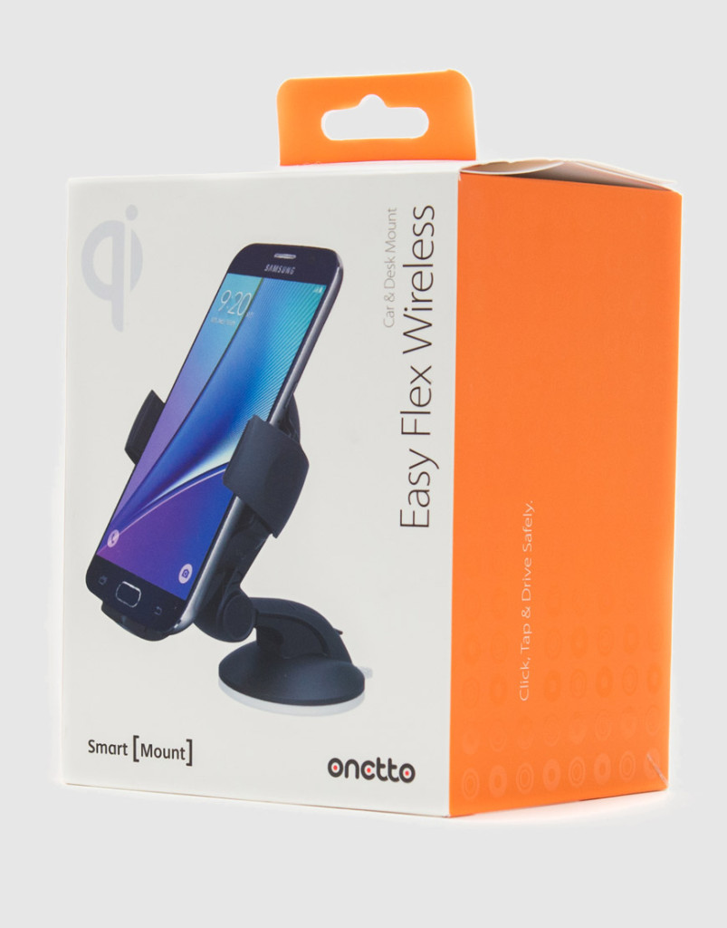 Держатель с функцией беспроводной зарядки Onetto Charging Easy Flex Wireless