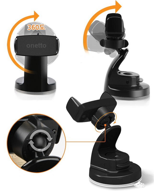 Onetto Car&Desk Mount Easy View 2