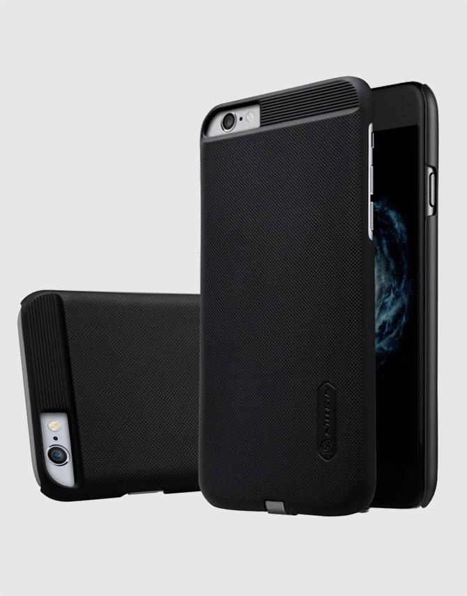 Чехол-ресивер беспроводной зарядки для Apple Iphone 6 Magic Case (черный)