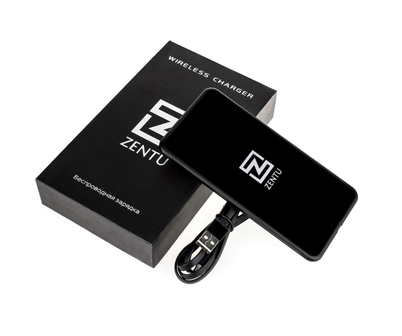 Беспроводная зарядка Zentu S7 Black Edition