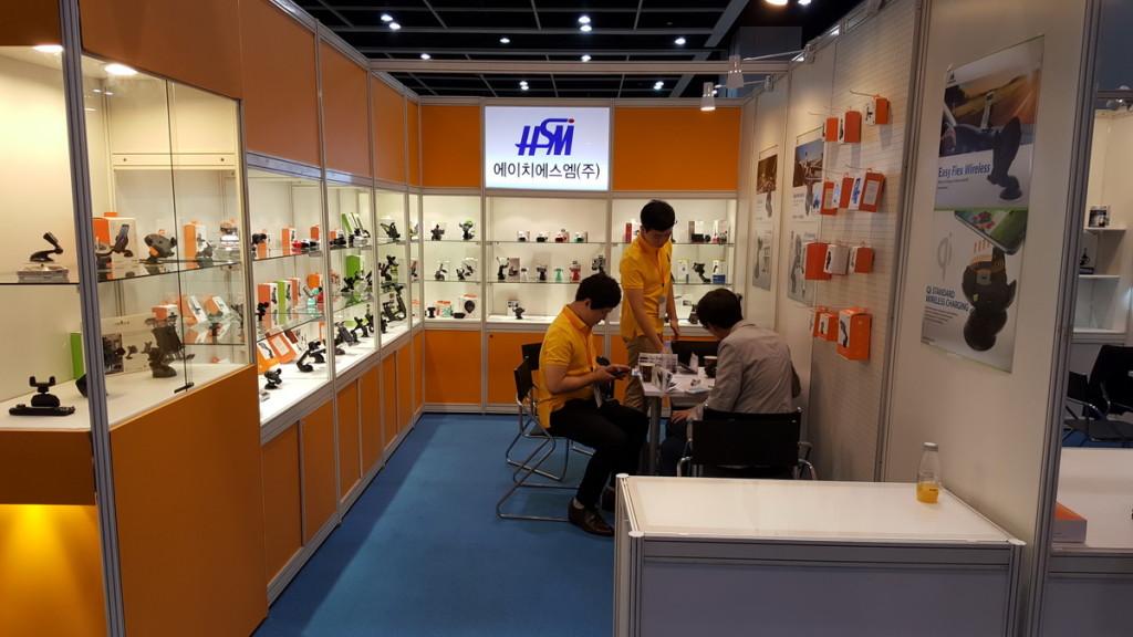 Выставка электроники в Гонконге