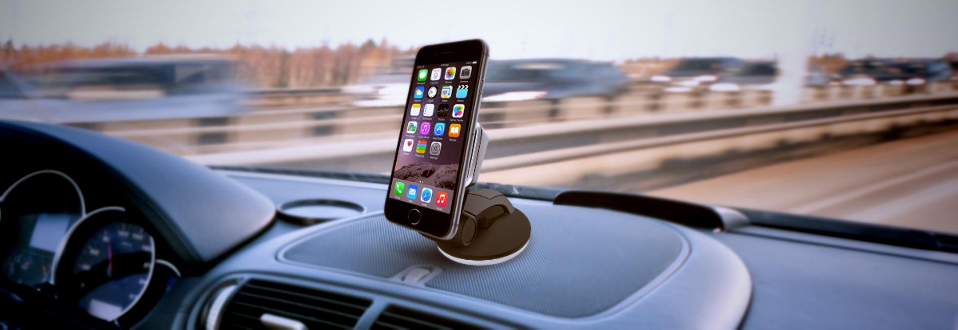 Магнитный держатель телефона Onetto Easy Flex Magent Suction Cup